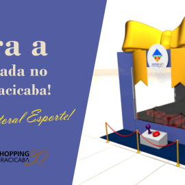Caixa Premiada no Shopping Piracicaba